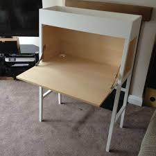 ikea desk bureau ps 2014 white birch veneer in long eaton