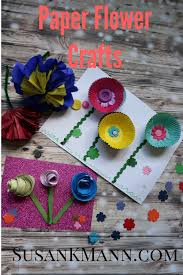 simple flower crafts for kids