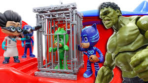 hulk pj masks headquarter secret weapon romeo