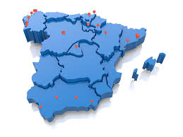 Santander Spain Map by Company Of Mary Schools Of Spain