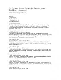 Resume Samples For Mechanical Engineers by Mechanical Design Engineer Sample Resume