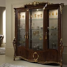 3 Door Display Cabinet Luxury Italian Display Cabinets Donatello Interiors Italia