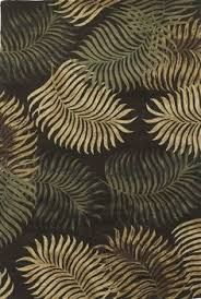 Palm Tree Runner Rug 209 00 Kas Rugs Sparta Palm Trees Moss Rug 1233102 P