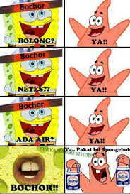 Meme Comic Indonesia Spongebob - dwiki s blog foto lucu from meme comic indonesia