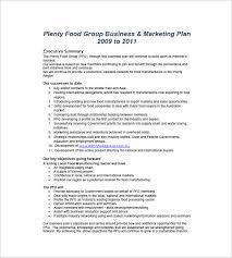 business plan sample manufacturing business plan sample pdf 10