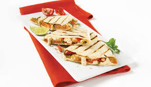 boursin cuisine quesadilla with mild toulouse sausage and boursin olymel