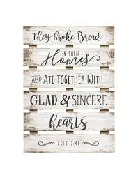 p graham dunn they broke bread in their homes skid sign home