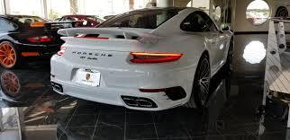 porsche 911 cpo dealer inventory 2017 porsche 911 turbo white w blk bordeaux