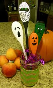 halloween spoons hand painted wooden decorations halloween gift