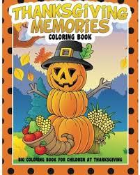 sale thanksgiving memories coloring book big coloring