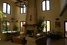 fireplace idea in tuscan living room with classy look bring old