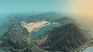 Gta 5 Map Gta 5 Map Re Created In Cities Skylines Gamespot