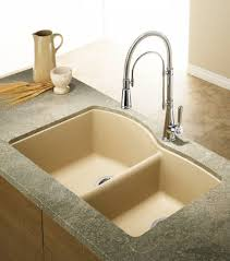 8 in double bowl stainless steel sink 401585 in canada silgranit natural granite composite undermount kitchen sink biscotti sop1218 in canada
