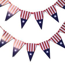 Blue White And Red Flags Amazon Com Bobee Red White And Blue Party Decorations Paper