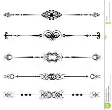 vector ornamental lines stock photo image 14095550