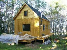 small cabin plans free 14 x 24 owner built cabin