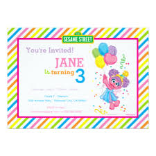 sesame invitations u0026 announcements zazzle