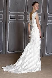 carolina herrera wedding dresses carolina herrera columbine wedding dress v neck silk and ruffled