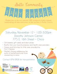 care baby shower butte community baby shower nov 12 chico helpcentral org