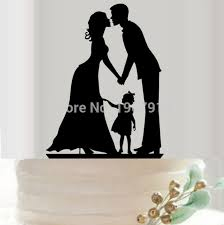 family wedding cake toppers new arrival family groom cake topper with lovely girl