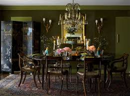 Green Dining Rooms The Style Abettor Green Dining Rooms