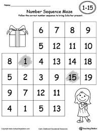 recognizing numbers 1 20 worksheets worksheets