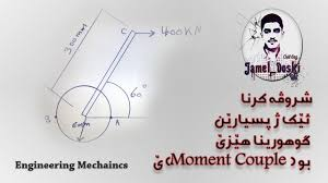 engineering mechanics replace force moment to couple moment