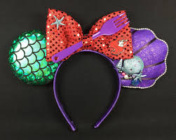 mickey mouse ears spirit halloween little mermaid inspired mickey ears version 2 i got the idea for