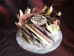 70th birthday cakes chocolate birthday cake for a 70th birthday chocolate delores