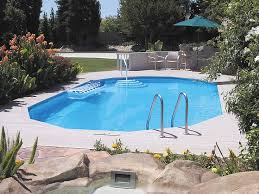 Backyard Pool Sizes by In Ground Doughboy Pool Half The Cost Of A Traditional In