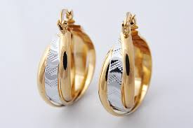 trendy gold earrings jewelry pad picture more detailed picture about 30mm 18k