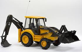 volvo 18 wheeler for sale amazon com volvo bl71 volvo remote controlled backhoe loader