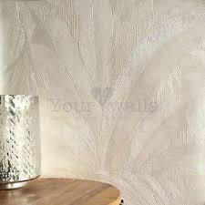 versace u0027palm leaf u0027 designer leaf tree wallpaper in pearl white