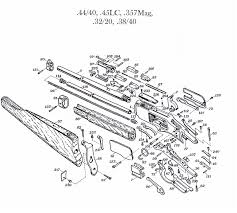 winchester model 61 parts diagram winchester model 121 parts