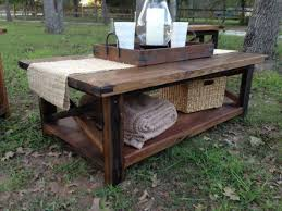 Furniture Rustic Modern by Best 25 Rustic Coffee Tables Ideas On Pinterest House Furniture
