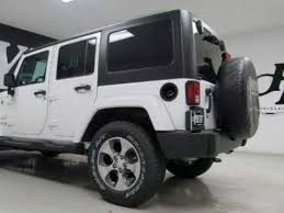 white jeep 4 door 2018 jeep wrangler jk unlimited 4x4 4 door suv sahara white for sale