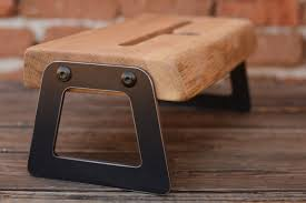 ipad dock from oak wood ipad docking station tablet wooden stand