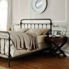 Antique Cast Iron Bed Frame Cast Iron Bed Frame Wrought Iron Bed Frames Size Room Black