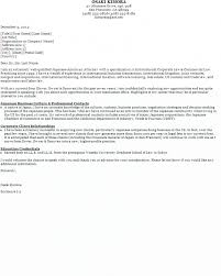 Free Sample Cover Letters For Resume by Resume Free Sample Cover Letters For Resumes Sample Career