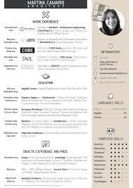 architectural resume sample architecture resume black and white theme cv pinterest clippedonissuu from cv martina camarri architetto