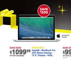 best macbook deals black friday 13 3 inch apple macbook pro w retina is 1099 99 at best buy on