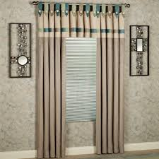 tab top valances tab top curtains and window treatments grommet