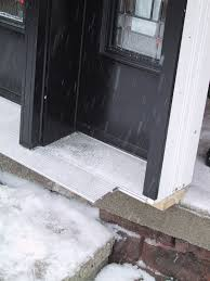 Exterior Door Install Cool How To Install A Door Threshold On Exterior Door Decorating