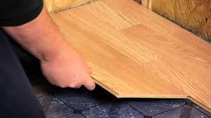 Best Underlayment For Floating Bamboo Flooring by How To Install Engineered Click Lock Flooring Flooring Tips