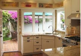 California Kitchen Design by Bringing The Outdoors In Kitchen Design