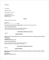 Nanny Housekeeper Resume Sample by Sample Housekeeping Resume 7 Examples In Word Pdf