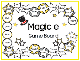 activities for teaching the magic e rule make take u0026 teach