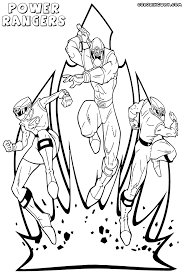 power rangers coloring pages coloring pages download print