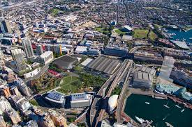completed darling harbour icc sydney siceep expansion 38st