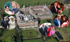 who lives in kensington palace kensington palace prince harry and meghan markle are moving closer